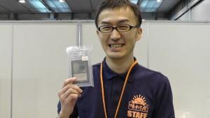 Japanese pro Takahashi and the graded Beta Lotus at his store 晴れる屋さんのブースでは、非常にきれいなロタス販売中