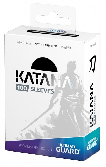 Ultimate Guard Katana card sleeves Black 100枚入り