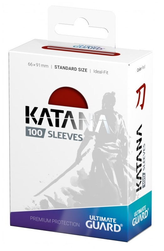 Ultimate Guard Katana card sleeves Red 100